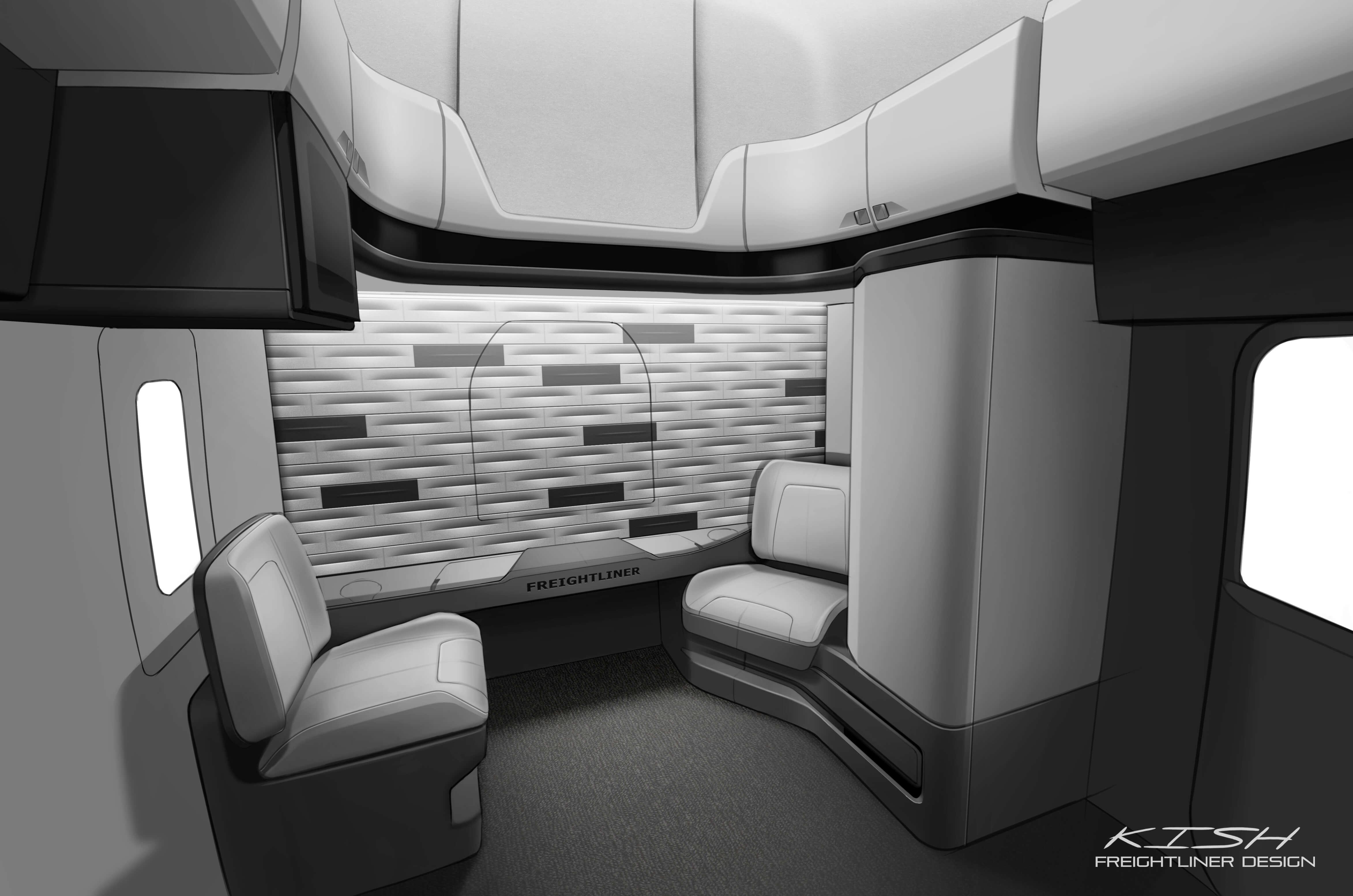 Le Nouveau Cascadia De Freightliner Re Oit Le Prix Good Design 2017 Transport Magazine
